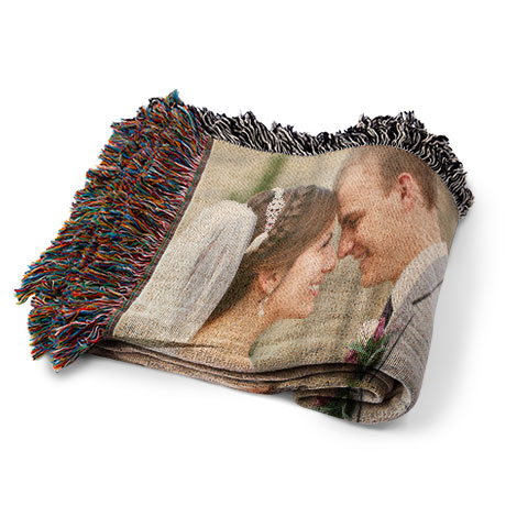 Woven Blanket 40x40 Woven Photo Blanket Blankets And Pillows Best Personalized Blanket Throws