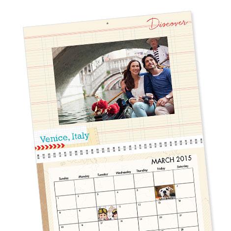 Premium Wall Calendar, 11.5x14, 12 Months