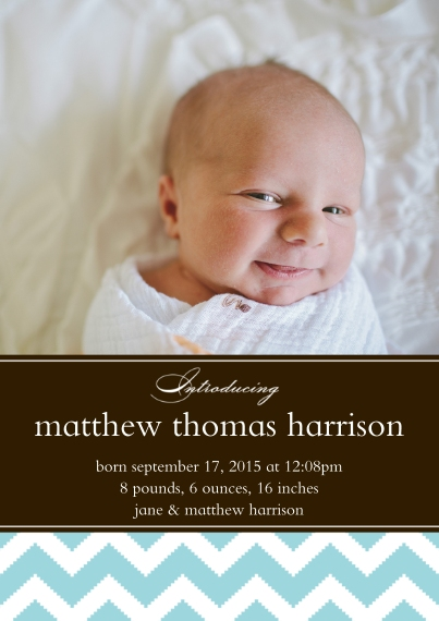 Baby Announcement Cards Birth
