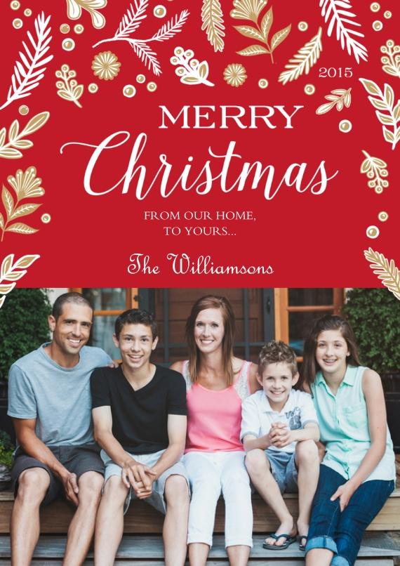 Compare Custom Photo Christmas Holiday Card Designs Snapfish Us